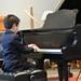 Scott during the piano recital