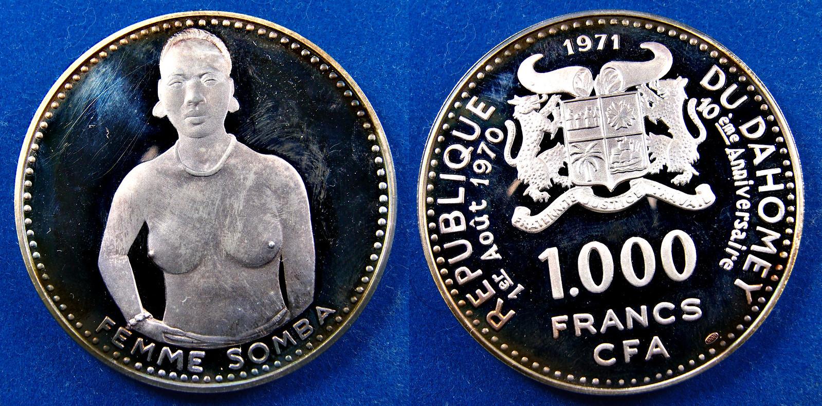 1.000 FRANCS CFA 1971 - REPUBLICA DE DAHOMEY. 15823724500_4ca14b37b0_h