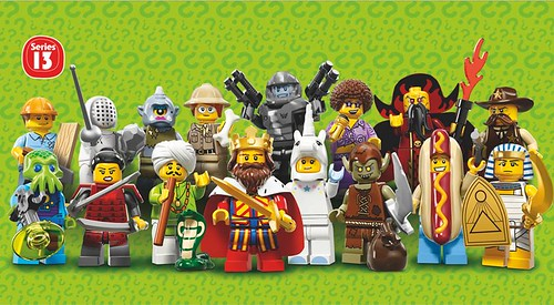 LEGO Collectable Minifigures Series 13