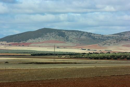 Landscape, La Mancha, Spain