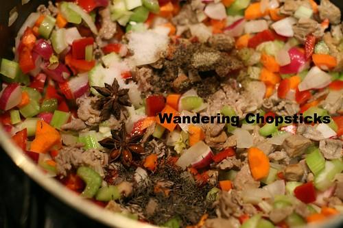 Uzbek Lagman (Lamb Noodle Soup) 9