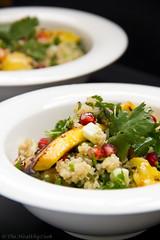 Quinoa Salad with Cilantro & Grilled Mango–…