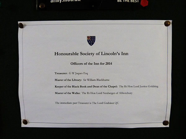 Honourable society