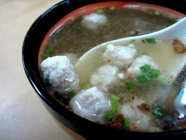 Moi Suong meatball soup 2