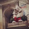 Feeling the holiday spirit as I walked up to the main entrance of the New York Public Library yesterday.  Happy holidays!  #happyholidays #holiday #holidays #holiday2014 #Christmas #christmas2014 #NYPL #midtown #manhattan #ny #mynyc #mynewyork #christmasi