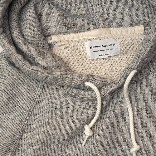 Manual Alphabet / Pullover Sweat Parka
