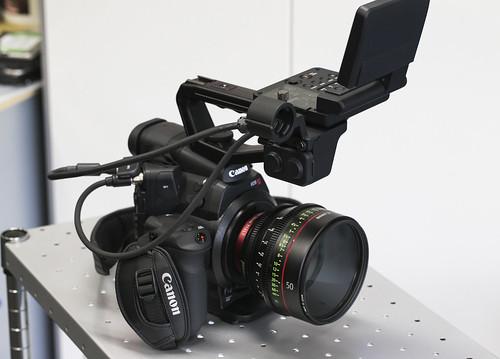 EOS C300 デュアルピクセルCMOS AF改造