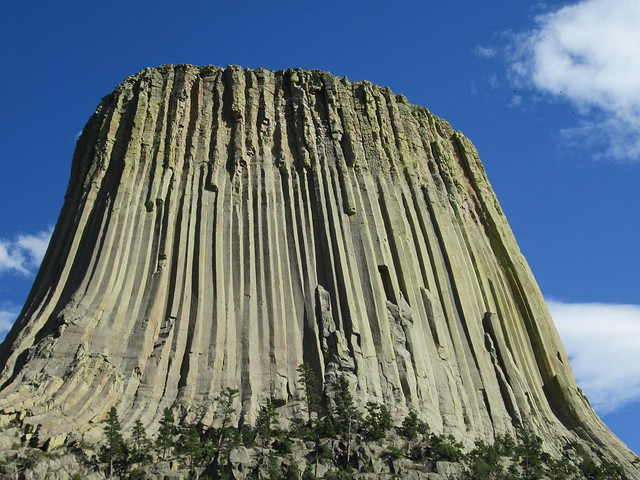 Humans Cast Devil's Tower in Wyoming, USA, 50 Million Years Ago.