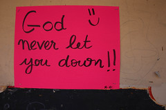 God Never Let You Down
