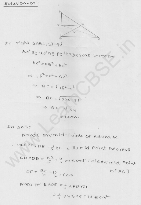 RD Sharma Class 9 Solutions Chapter 14 Quadrilaterals Ex 14.4 6