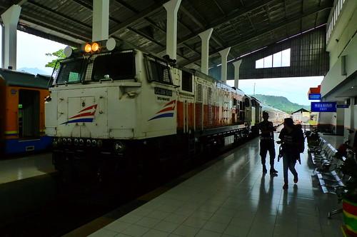 Banyuwangi Station, East Java, Indonesia