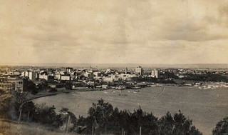 1937 - Perth from Kings Park, Western Australia