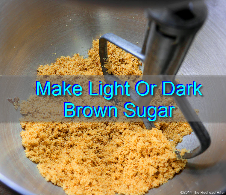 9 either make a cup or two or a large batch - How To Make Light And Dark Brown Sugar tw