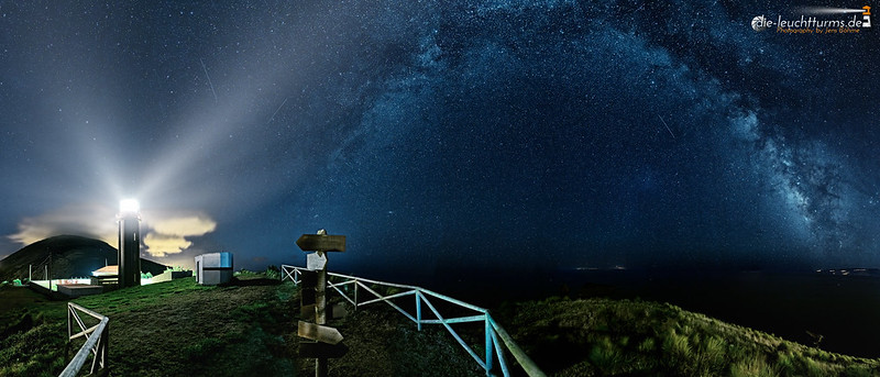 Milky way above Azores