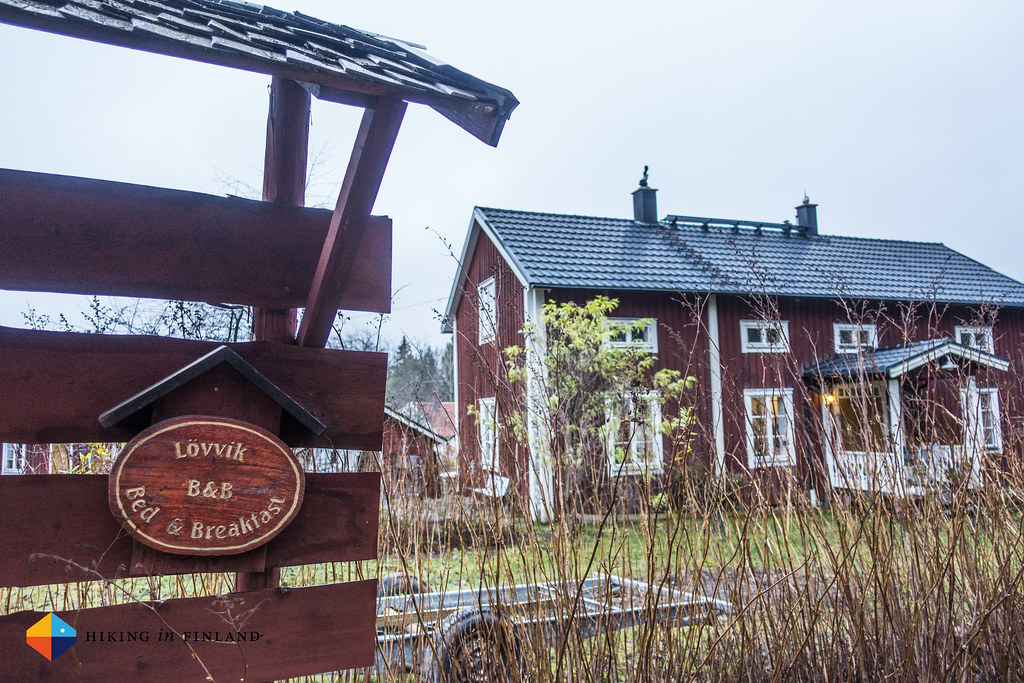A B&B in Lövvik
