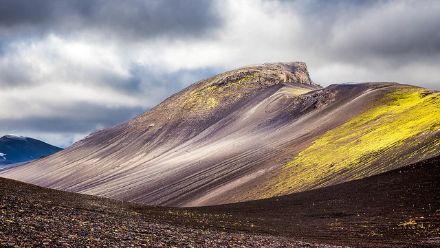 mountain, color, iceland