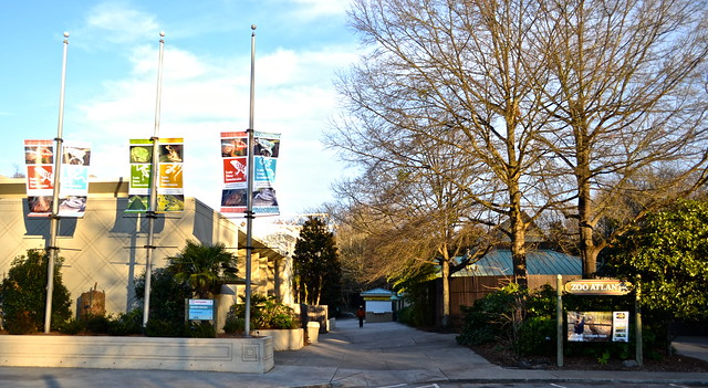Atlanta Zoo - entrance