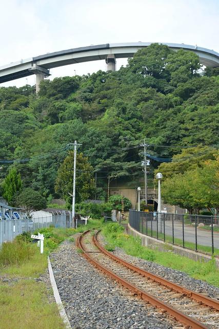 平成筑豊鉄道門司港レトロ観光線-ノーフォーク広場付近