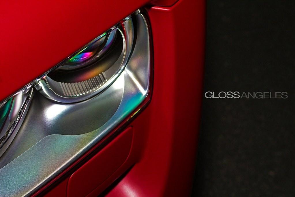 Matte Red Rolls Royce Light