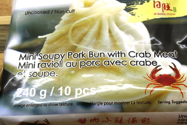Eat The World: Mini Soupy Pork Buts With Crab Meat