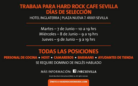 hard rock cafe trabajar