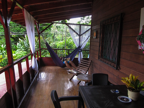 Cahuita: notre balcon