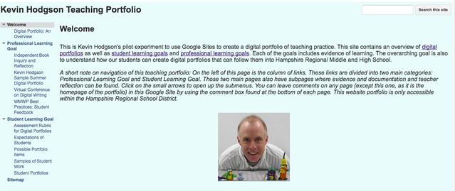 Kevin professional digital portfolio
