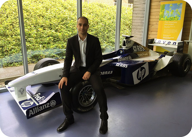Un ingeniero de la UPCT participa en el desarrollo de un coche de carreras sin conductor