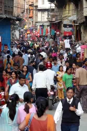 Nepal - Kathmandu - Streetlife - 104