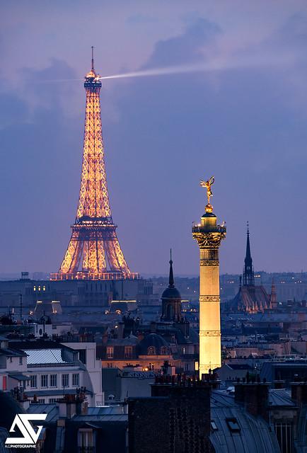 De Bastille à la Tour Eiffel