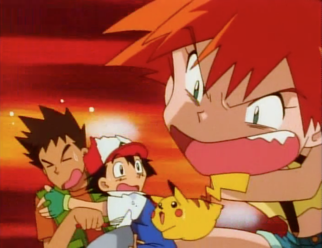angry misty