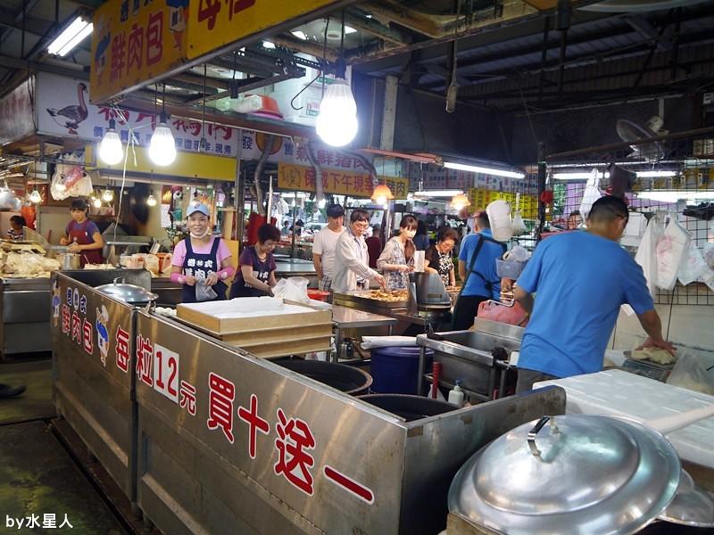 27627594301 c39b3d487a b - 台中南屯   郎記港式鮮肉包,大隆路黃昏市場內,香Q麵皮+鮮蔥肉餡