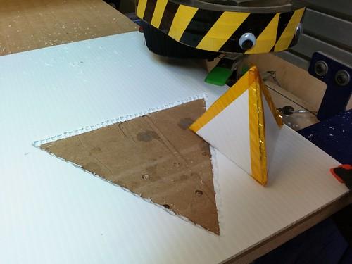 Shopbot tetrahedron