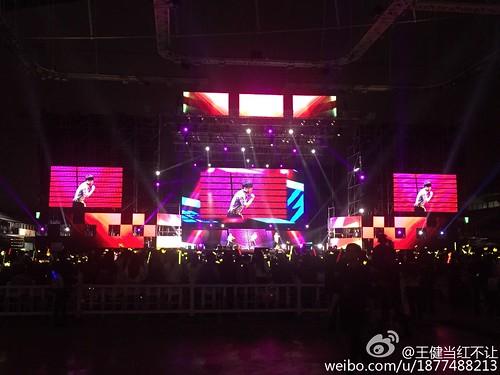 G-Dragon, Seung Ri & Tae Yang - V.I.P GATHERING in Harbin - 21mar2015 - 王健当红不让 - 02