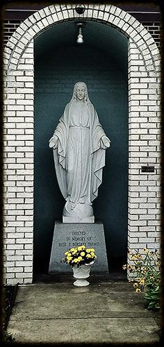 New Cumberland WV Virgin Mary