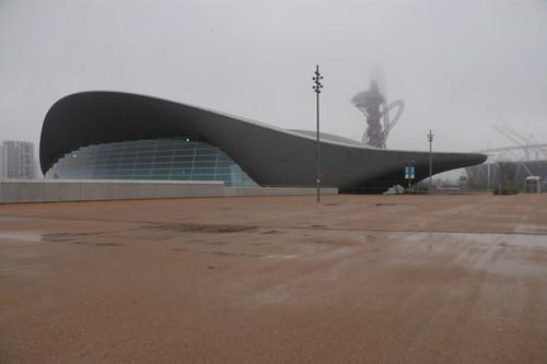 Quartiere Olimpico: lo stadio del nuoto
