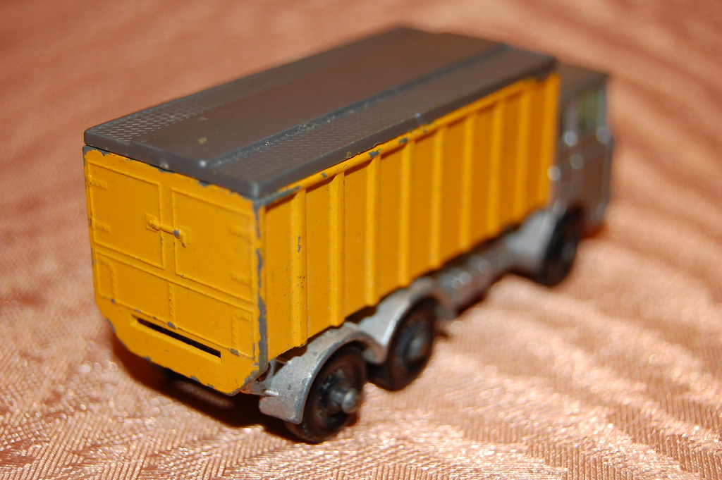 CAMION LESNEY MATCHBOX SERIES N. 47 TIPPER CONTAINER TRUCK MADE IN ENGLAND DAF | eBay