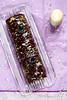Bûche facile chocolat pruneaux façon Christmas cake