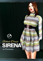Shey Sirena Belted Dress