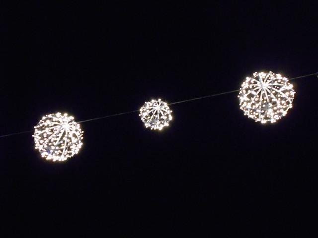 Jouluvalot Hämeenlinnan Reskalla 23.12.2014