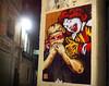 ataque de clown rnst street art