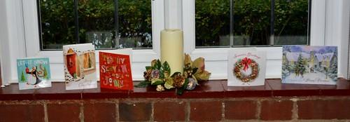 Christmas windowsills