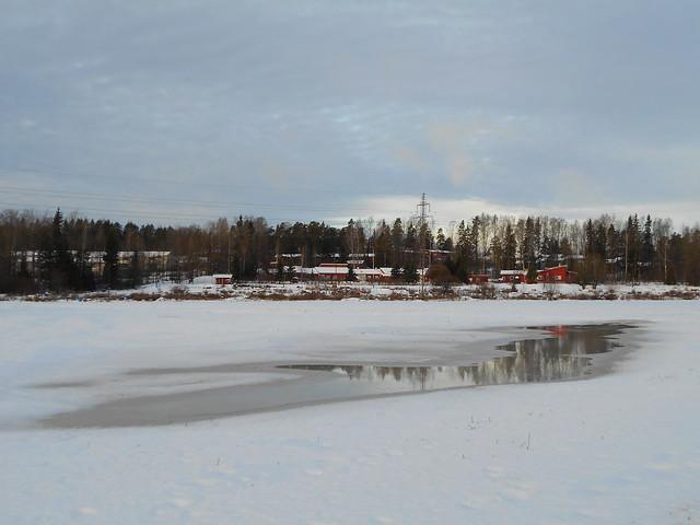 Uudenvuodenaaton suojasää 31.12.2014 Espoo Karakallio / Leppävaara