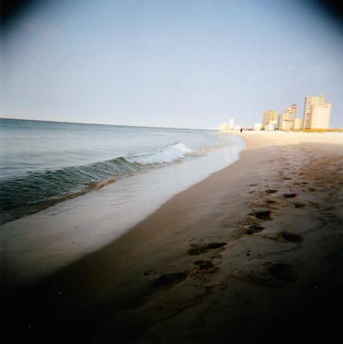ocean film beach gulfofmexico water holga al gulf kodak alabama gulfshores 120mm portra400 colorfilm kodakportra400 gulfshoresal gulfshoresalabama