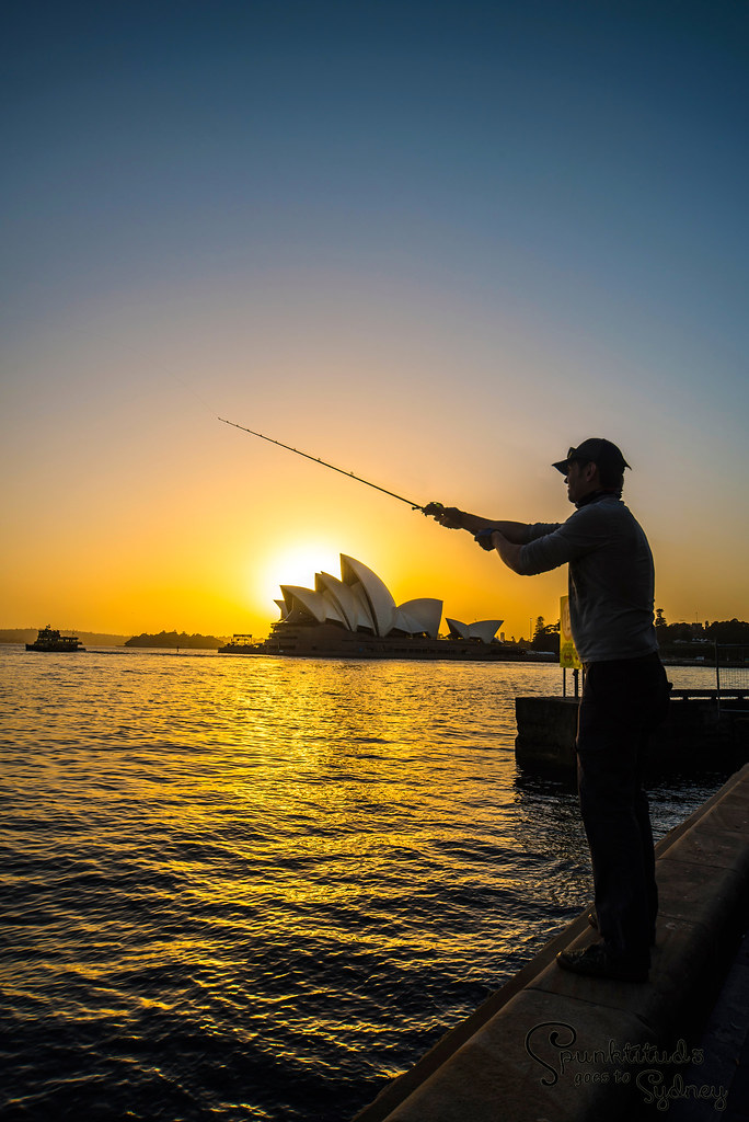 Sydney - Fishing for Sunrise
