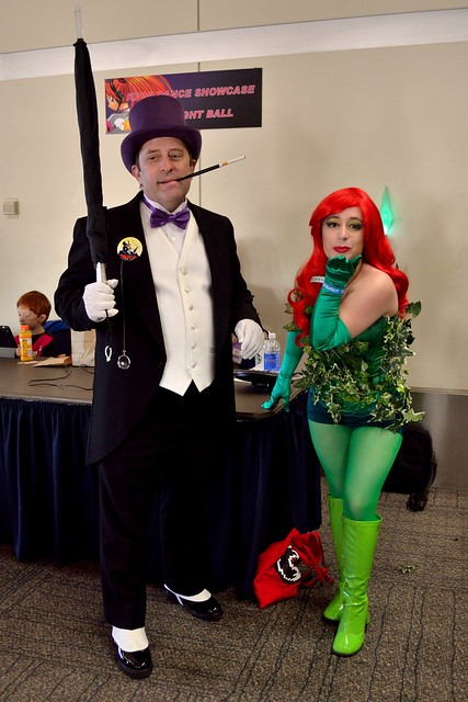 The Penguin & Poison Ivy