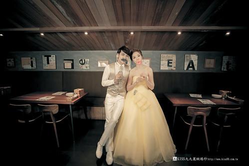 高雄KISS九九麗緻婚紗韓風婚紗攝影分享 (21)