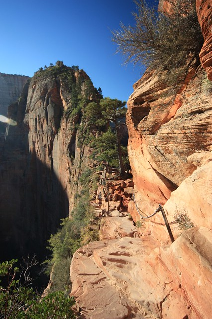 Angels Landing.  Zion National Park, Utah.