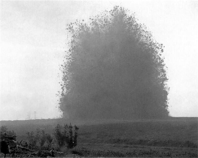 WW1 Mine in No Man's Land