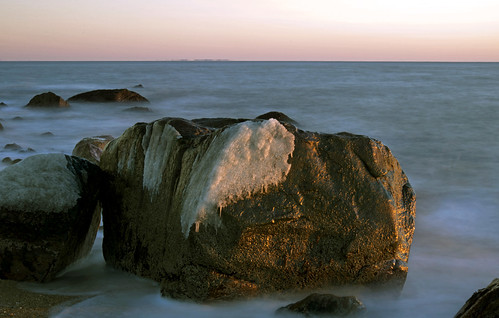 ocean statepark park longexposure blue winter sea usa cold ice beach water rock stone landscape outside coast photo seaside interesting sand nikon flickr waterfront image shots outdoor dusk connecticut clinton sandy horizon country shoreline picture newengland ct places scene madison shore scenes hammonassett gundersen longislandsound conn rockformation hammo nikoncamera d600 lisound hammonasset meigspoint hammonassetbeachstatepark hammonassetbeach nikond600 connecticutscenes bobgundersen robertgundersen